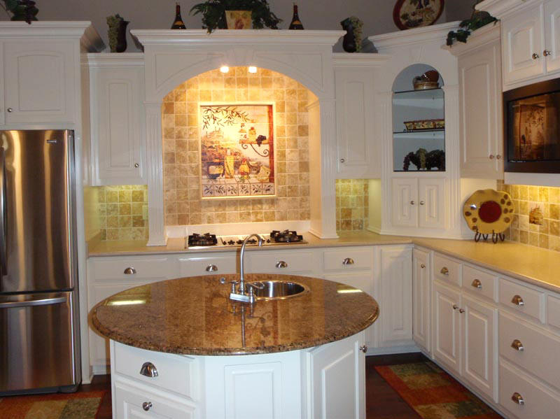 Page title for Kitchen center island cabinets